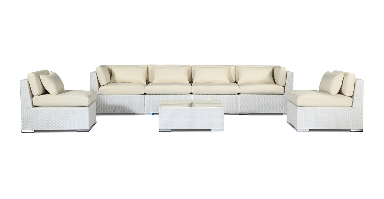 Patio Furniture Modern Outdoor Sofa Sectional Modify-It A...