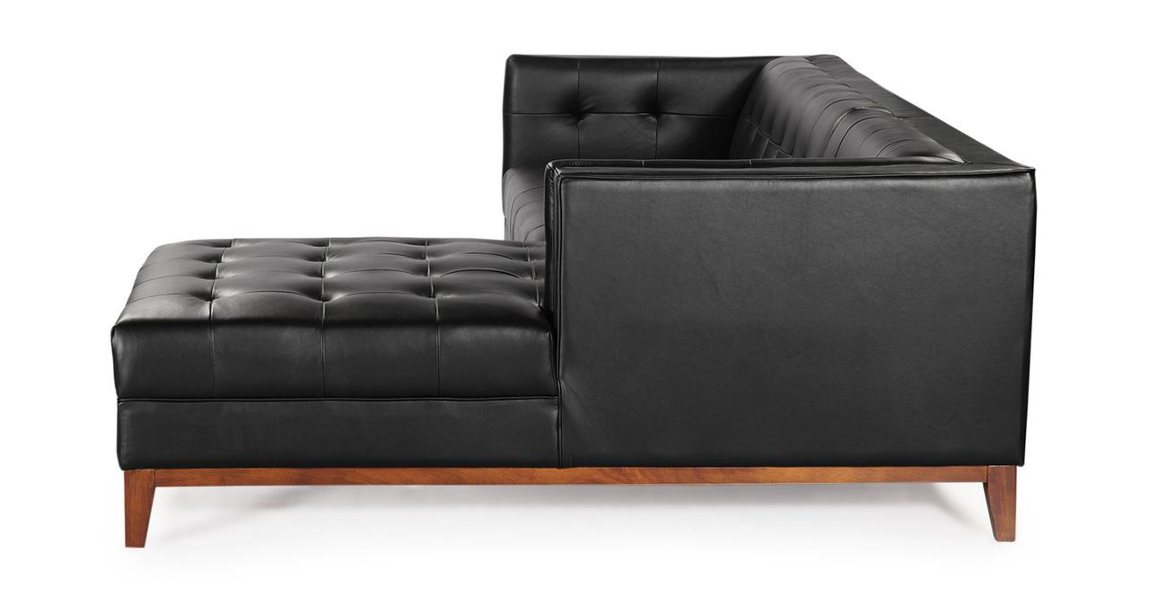 Harrison Mid Century Modern Chaise Sectional