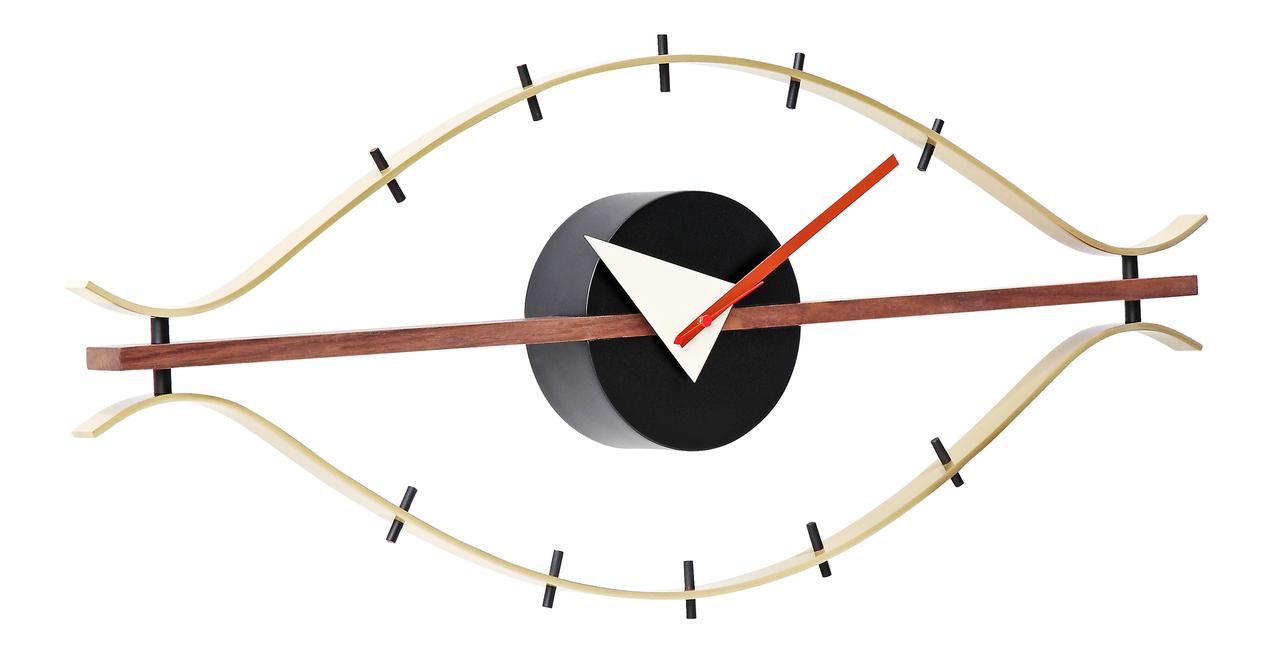 george nelson eye clock ebay. Black Bedroom Furniture Sets. Home Design Ideas