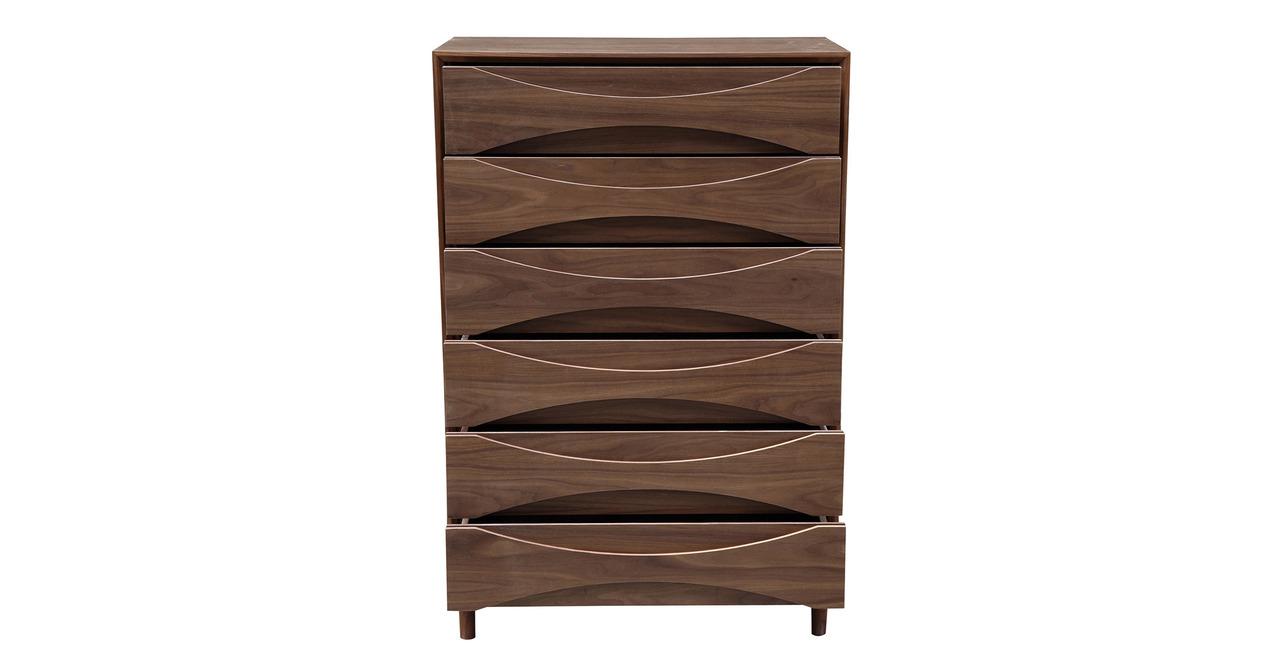 Kardiel Arne Vodder Tall Boy Chest Dresser Retro Modern C...
