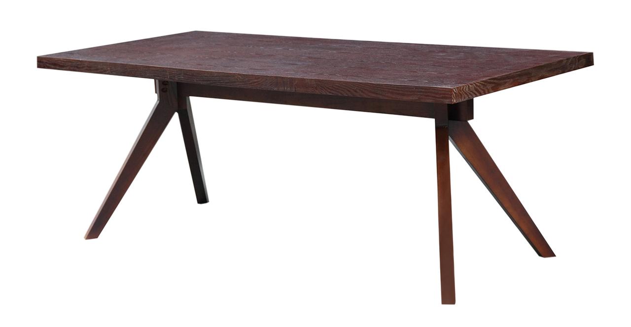 Kardiel Audrey Mid-century Modern Dining Table, Deep Stai...