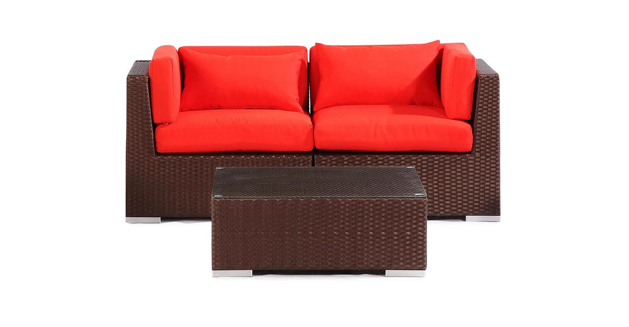 Outdoor Furniture Seating Modify-It Aloha Makena 3-pc Set...