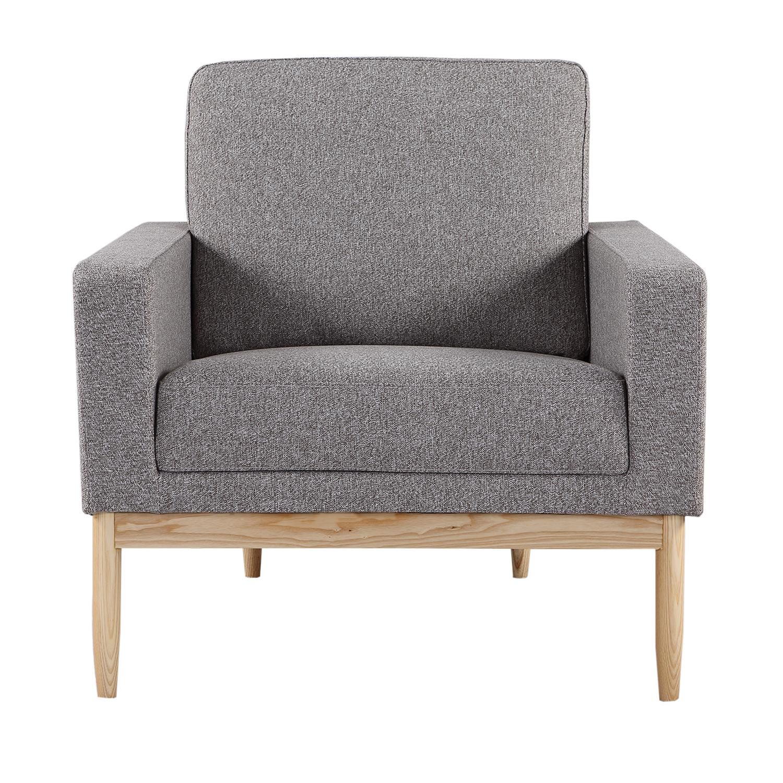 Kardiel Stilt Danish Mod Chair, Urban Pebble/Ash