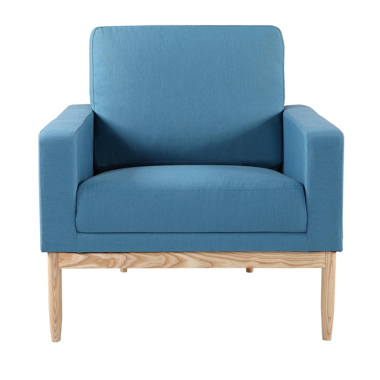 Kardiel Stilt Danish Mod Chair, Urban Surf/Ash