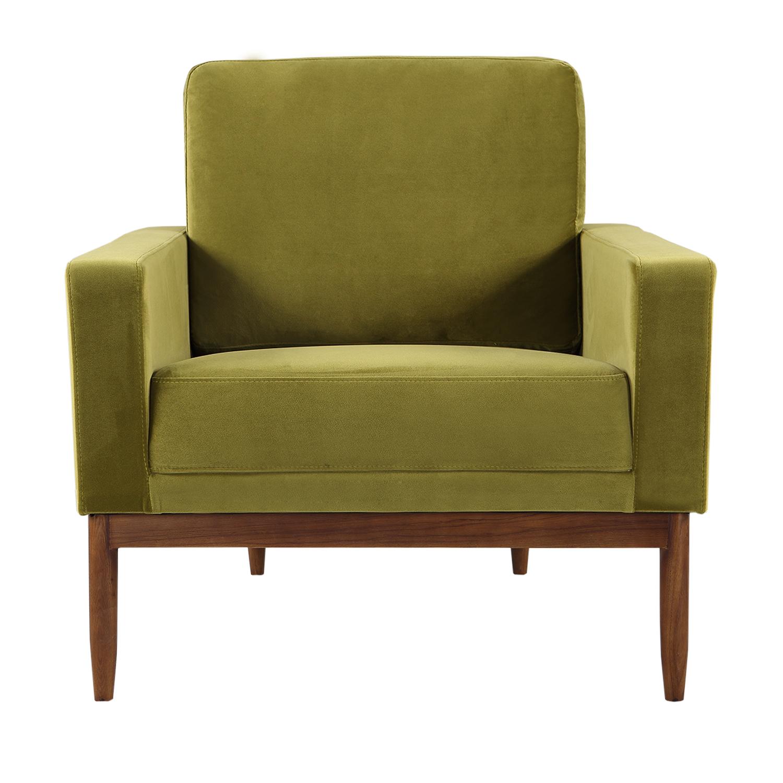 Kardiel Stilt Danish Mod Chair, Neptune/Walnut