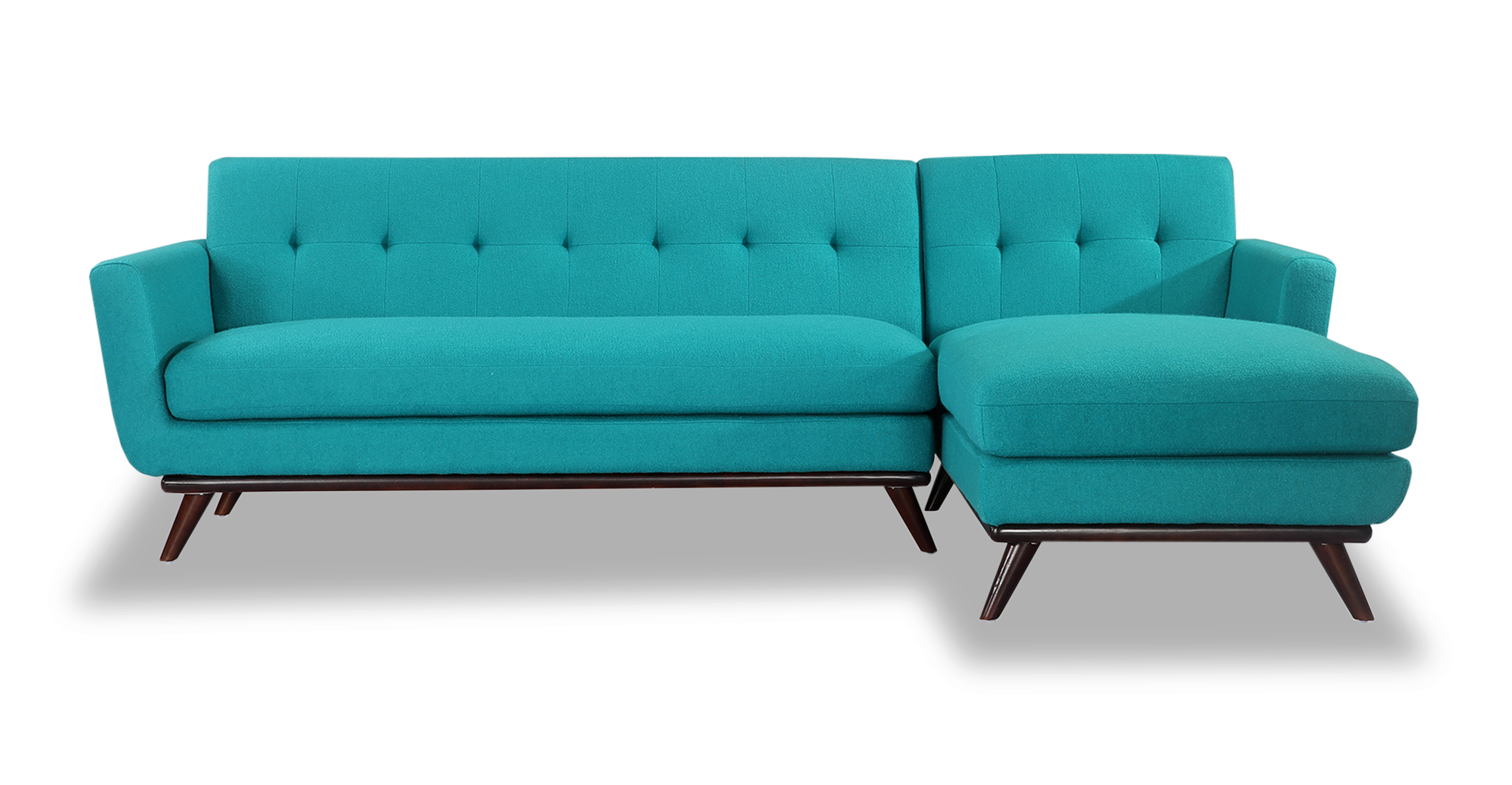 Kardiel Jackie Mid-Century Modern Sectional Sofa Right, T...