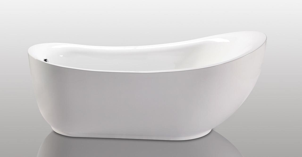 Helixbath cyrene freestanding soaker bath tub 71 w for Soaker tub definition