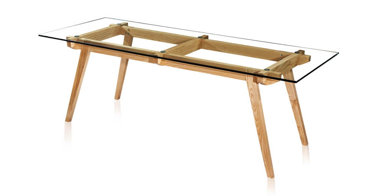 Kardiel Sticotti Mid-Century Modern Dining Table, Ash Woo...