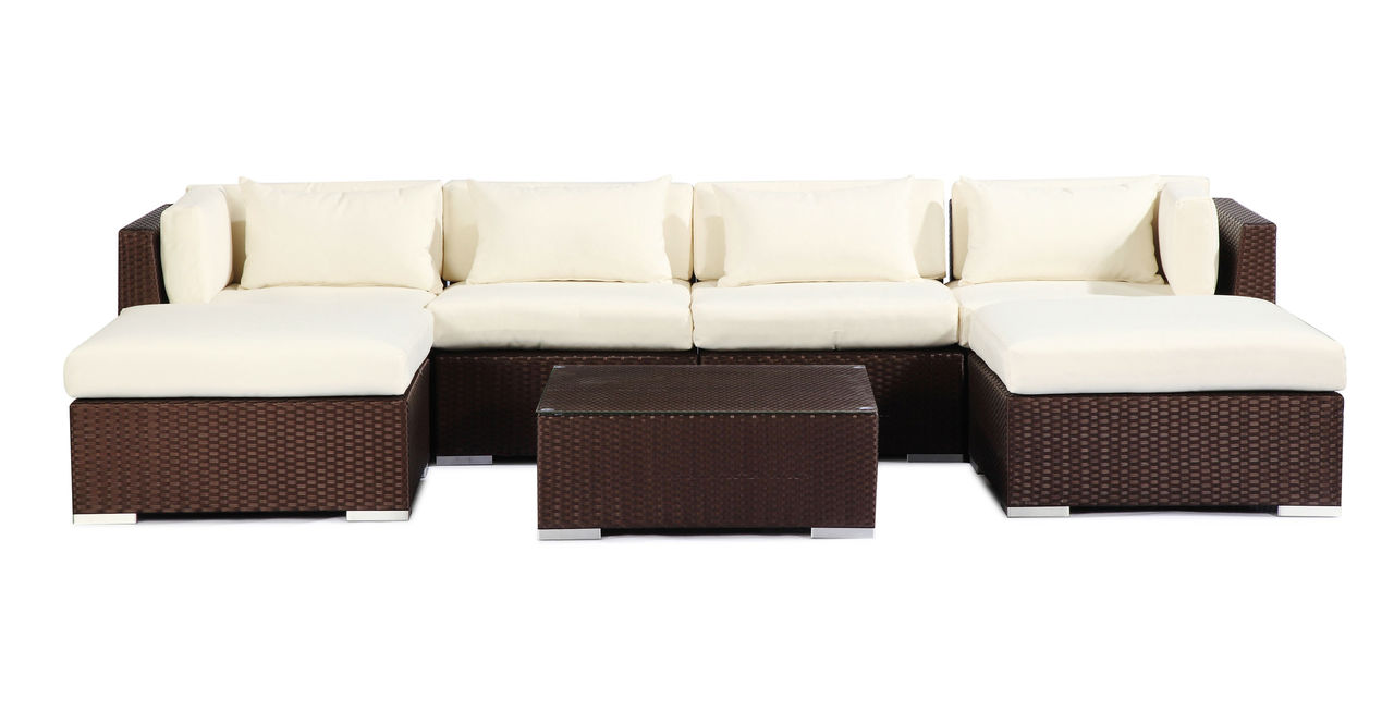 Modern Outdoor Furniture Sofa Sectional Patio Modify-It A...