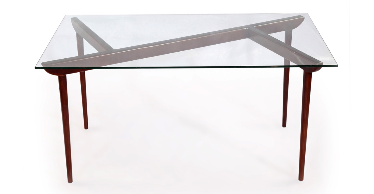 Kardiel Deco Timber KO Mid-Century Modern Dining Table, W...