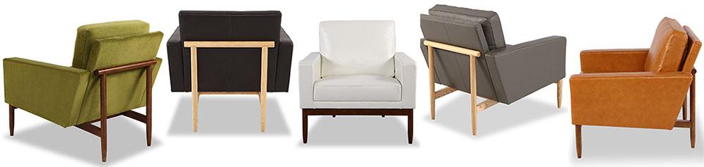 Stilt Danish Modern Chairs