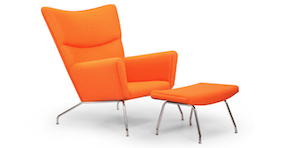 Wegner Modern Classic Wing Chairs