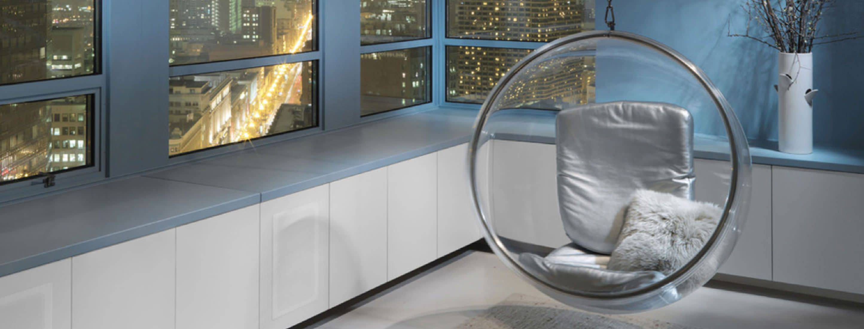 silver in eero chair dp kitchen amazon bubble aarnio home