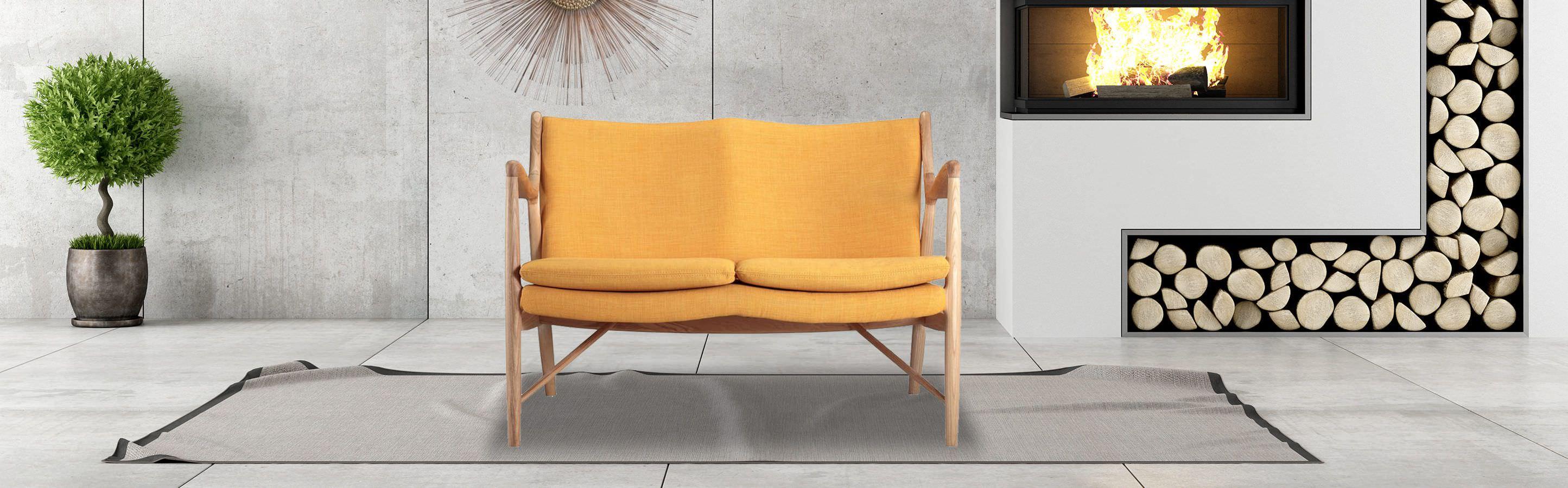 Copenhagen 45 Mid Century Modern Sofa