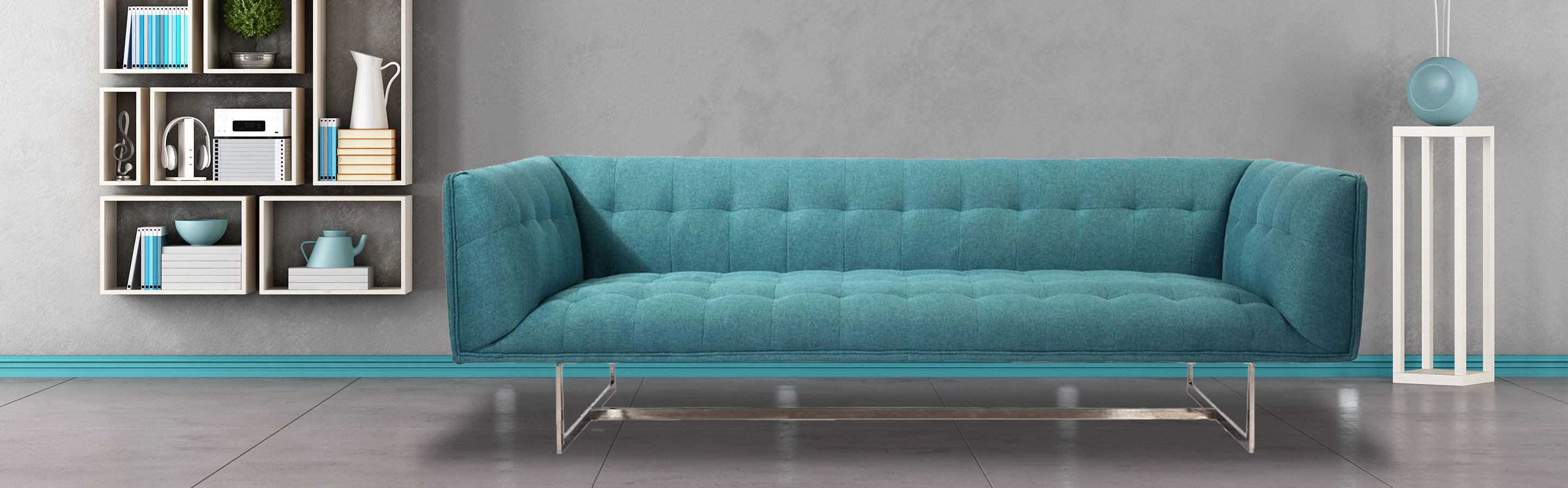Mid Century Modern Classic Edward tufted Sofa