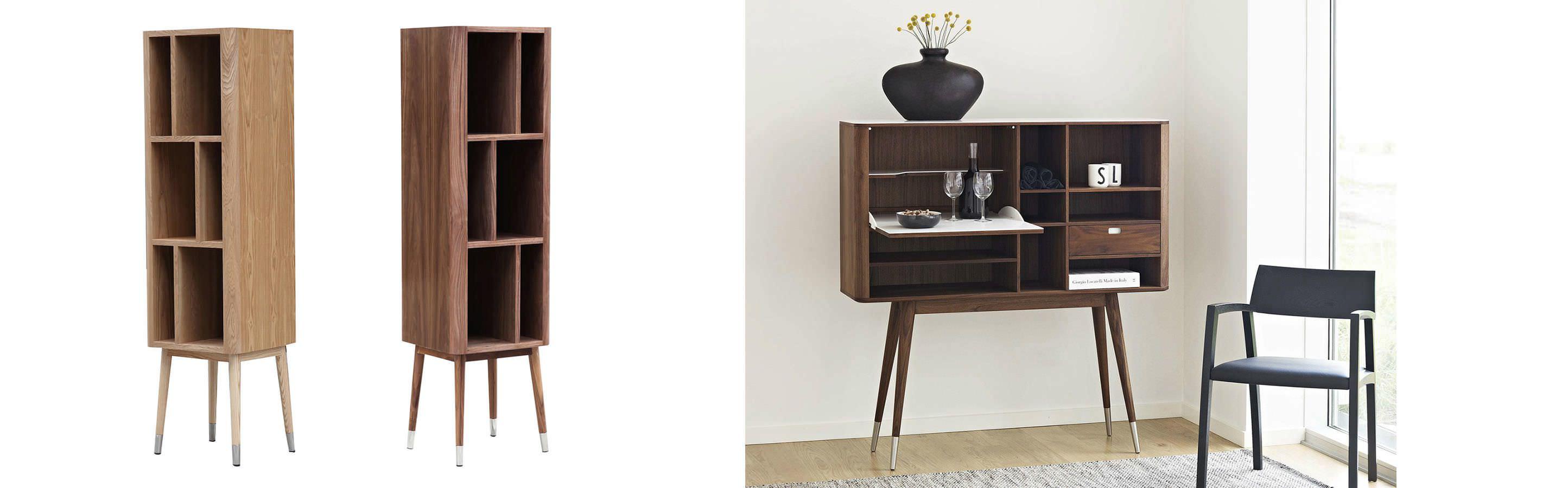 AK2750 Mid Century Modern Cabinet