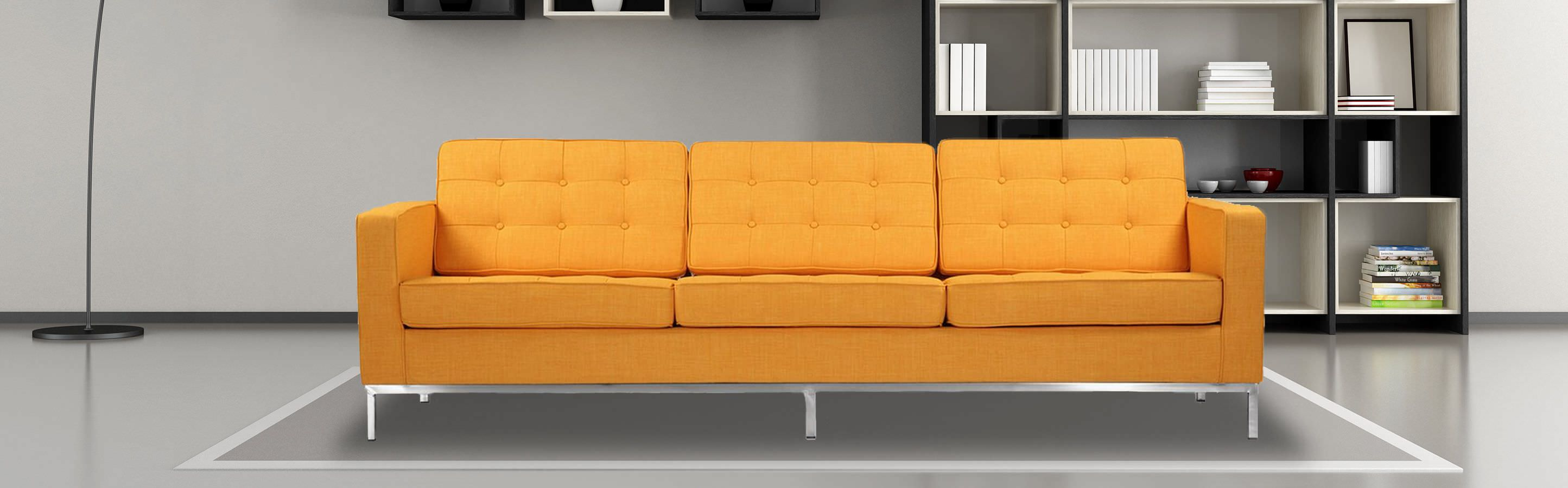 Collections florence series florence knoll sofas page 1 kardiel - Florence knoll sofa gebraucht ...
