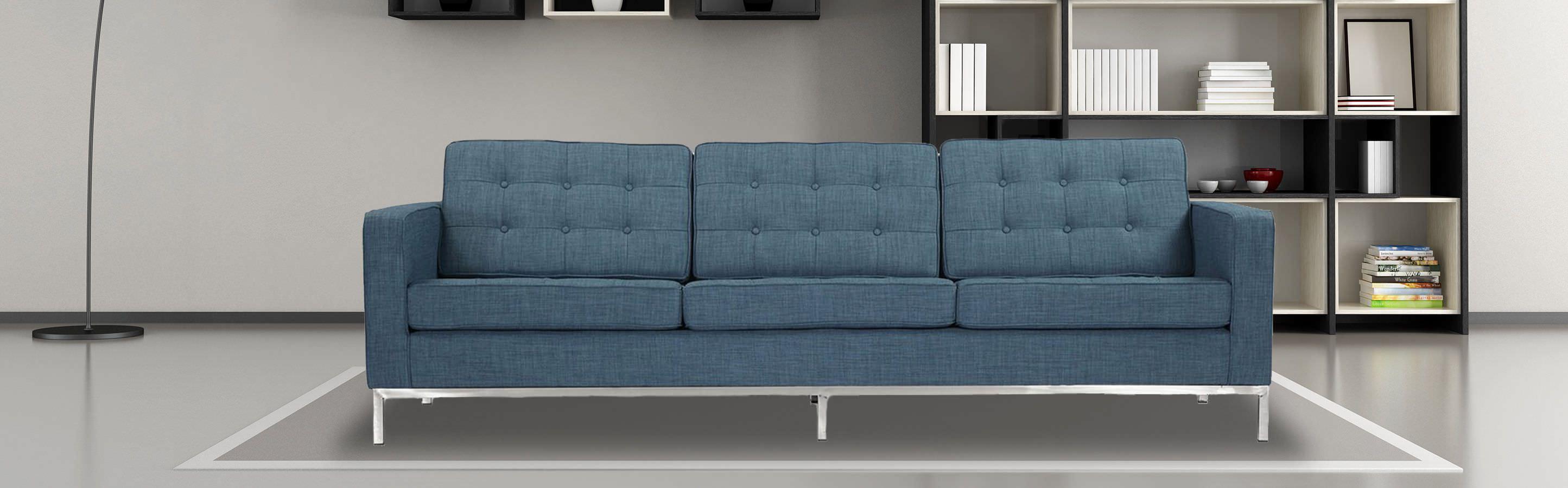 Florence Mid Century Modern Sofa