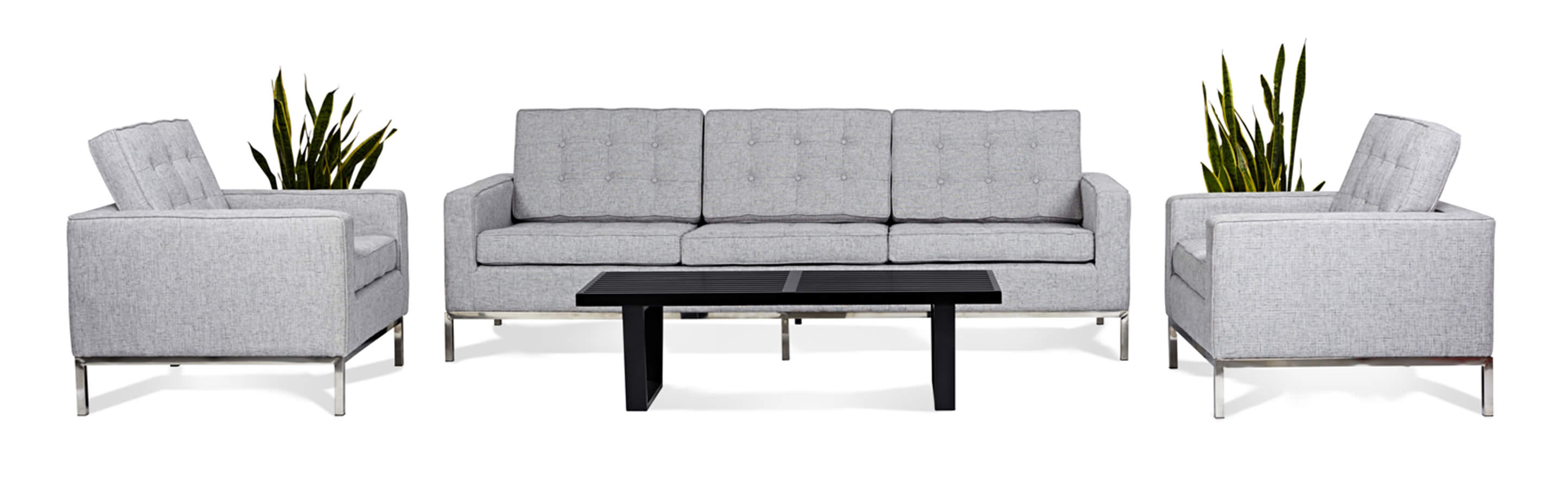 Florence knoll style living room sets
