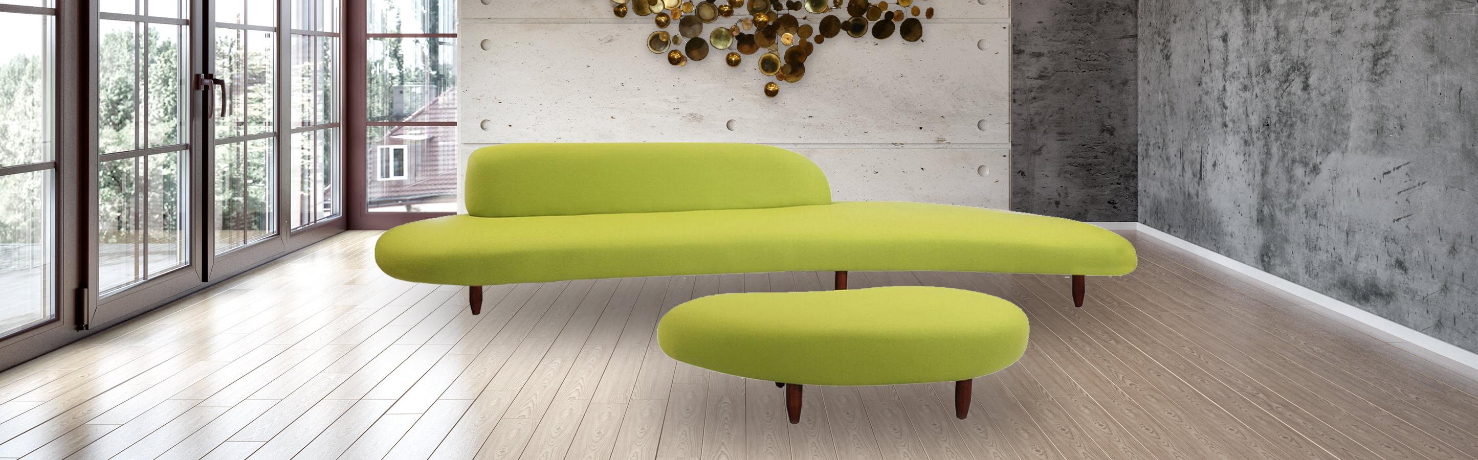 100 yellow ottoman coffee table living room living room fur