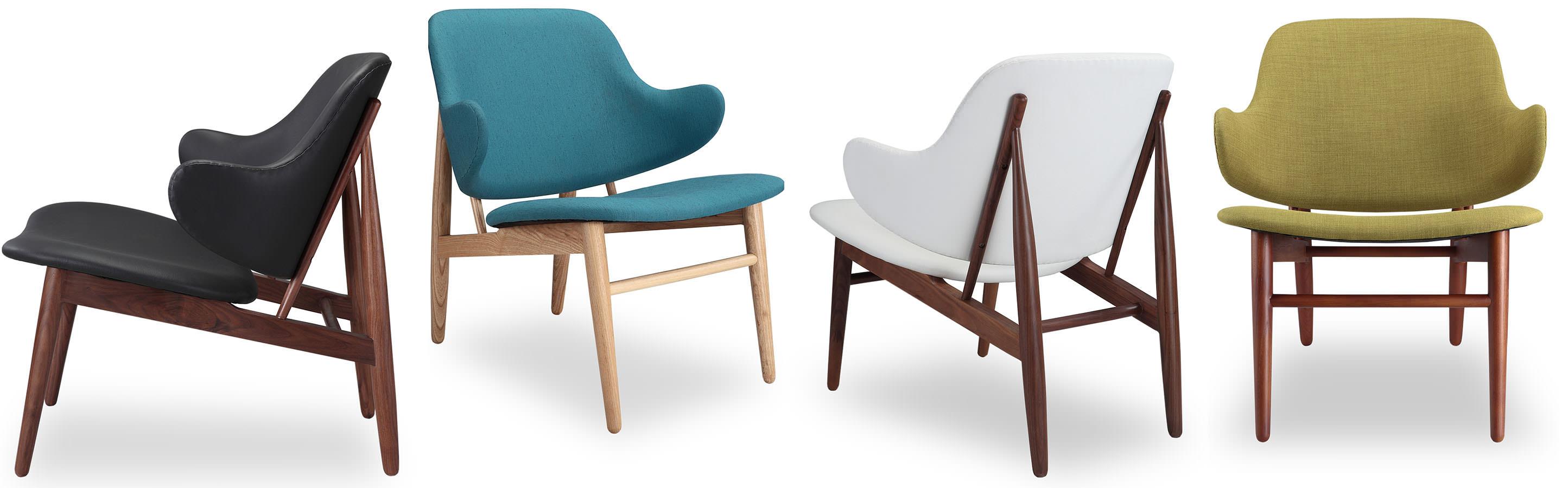 Tripod Shell Plywood Mid Century Modern Chair