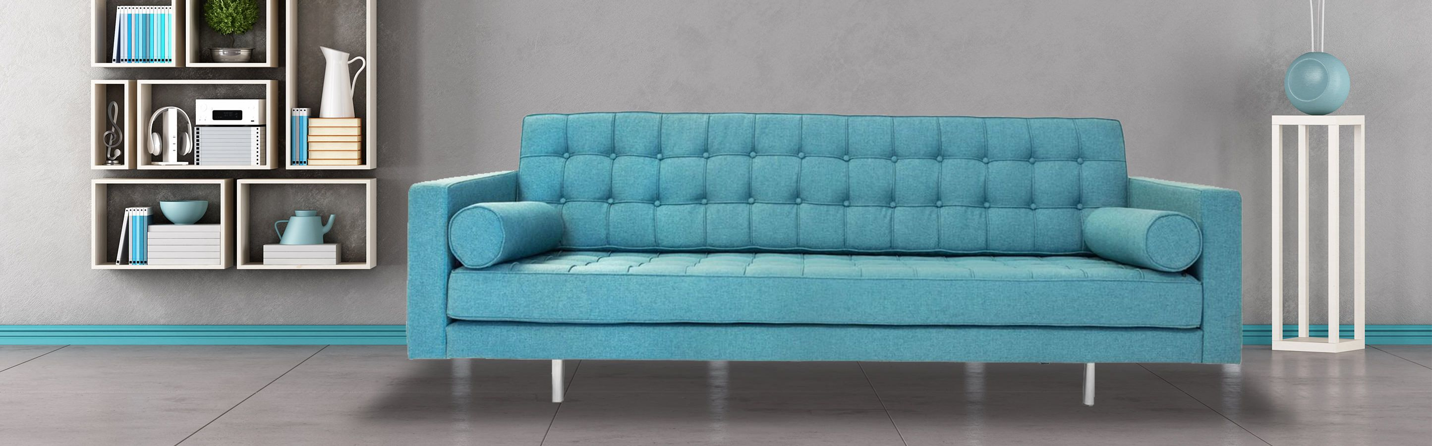 Madison Mid Century Modern Sofa