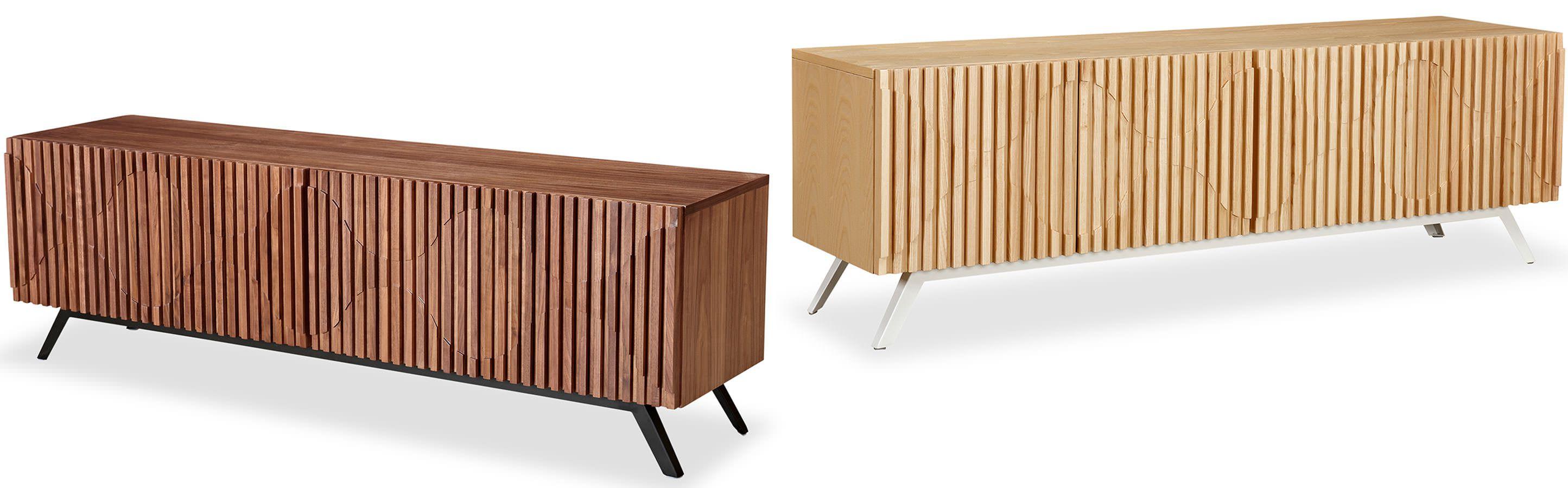 Preferred Storage - Media Cabinets - Semibreve Cabinet - Kardiel BF13