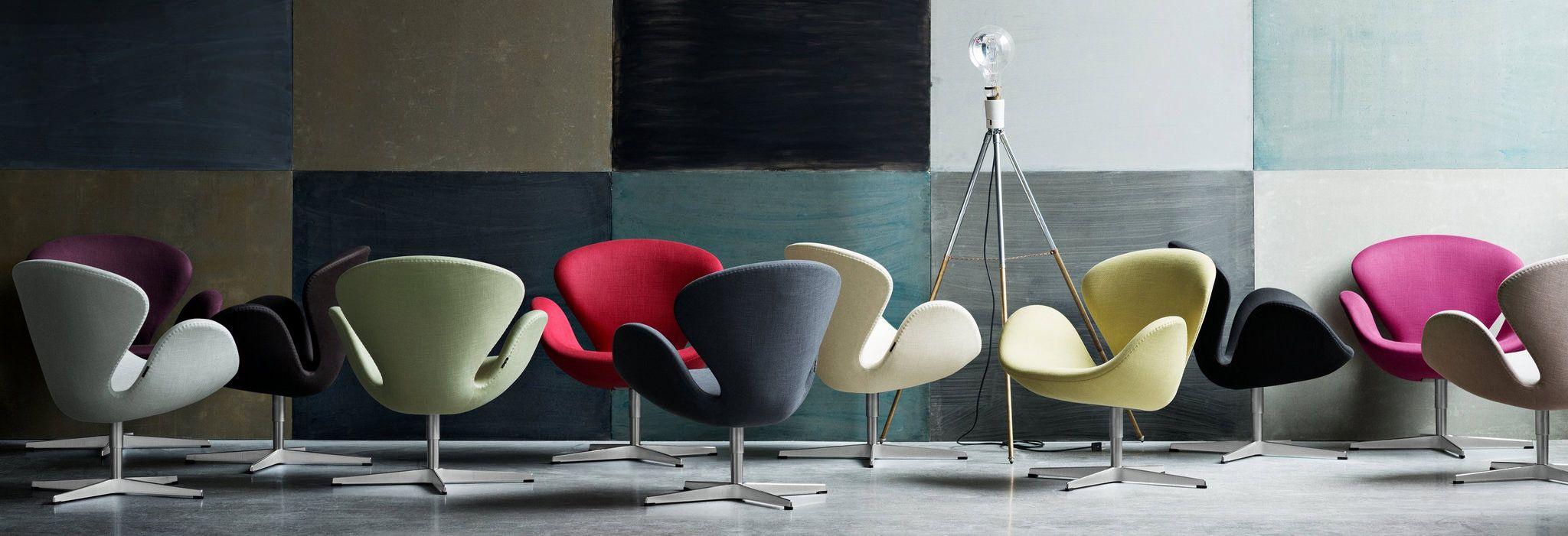 Trumpeter Swan Mid-century Modern Chair