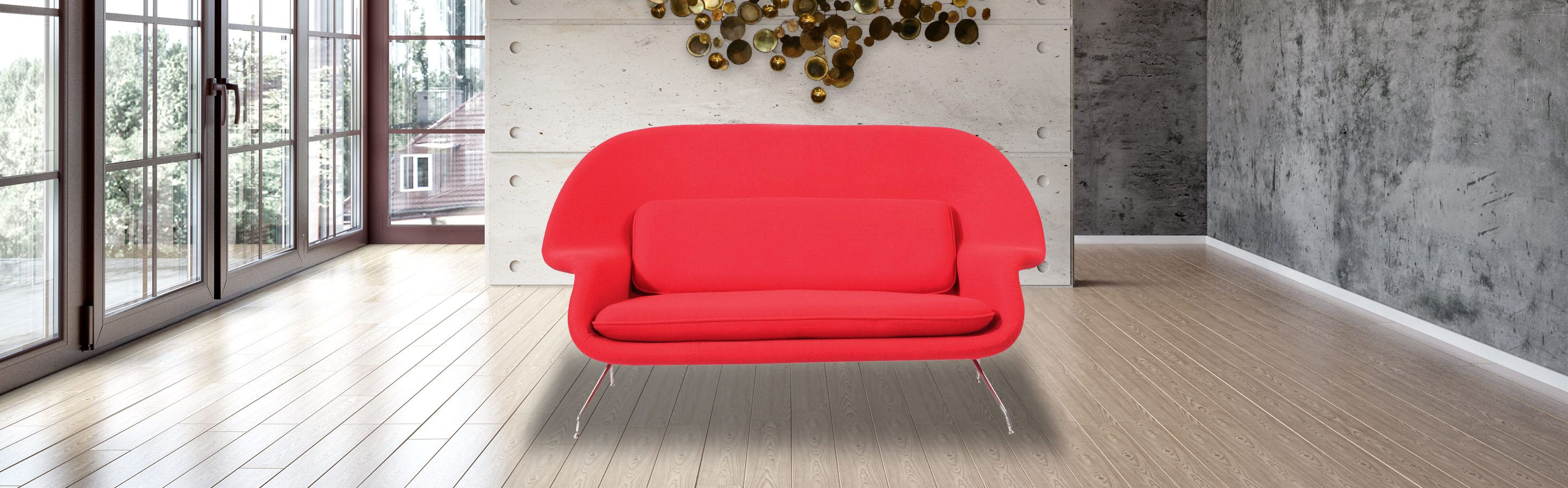 Womb Loveseat Wombat Sofa