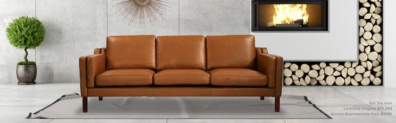 Mogensen Mid Century Modern Sofa