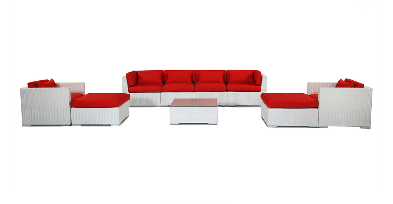 Outdoor Patio Furniture Sofa Sectional Modify-It Aloha Ka...