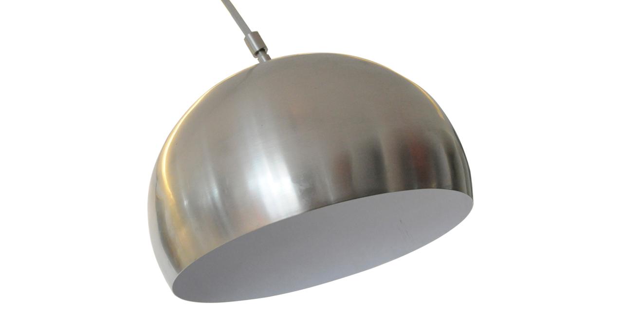 Arco style floor lamp black marble rectangle base ebay - Arco floor lamp reproduction ...