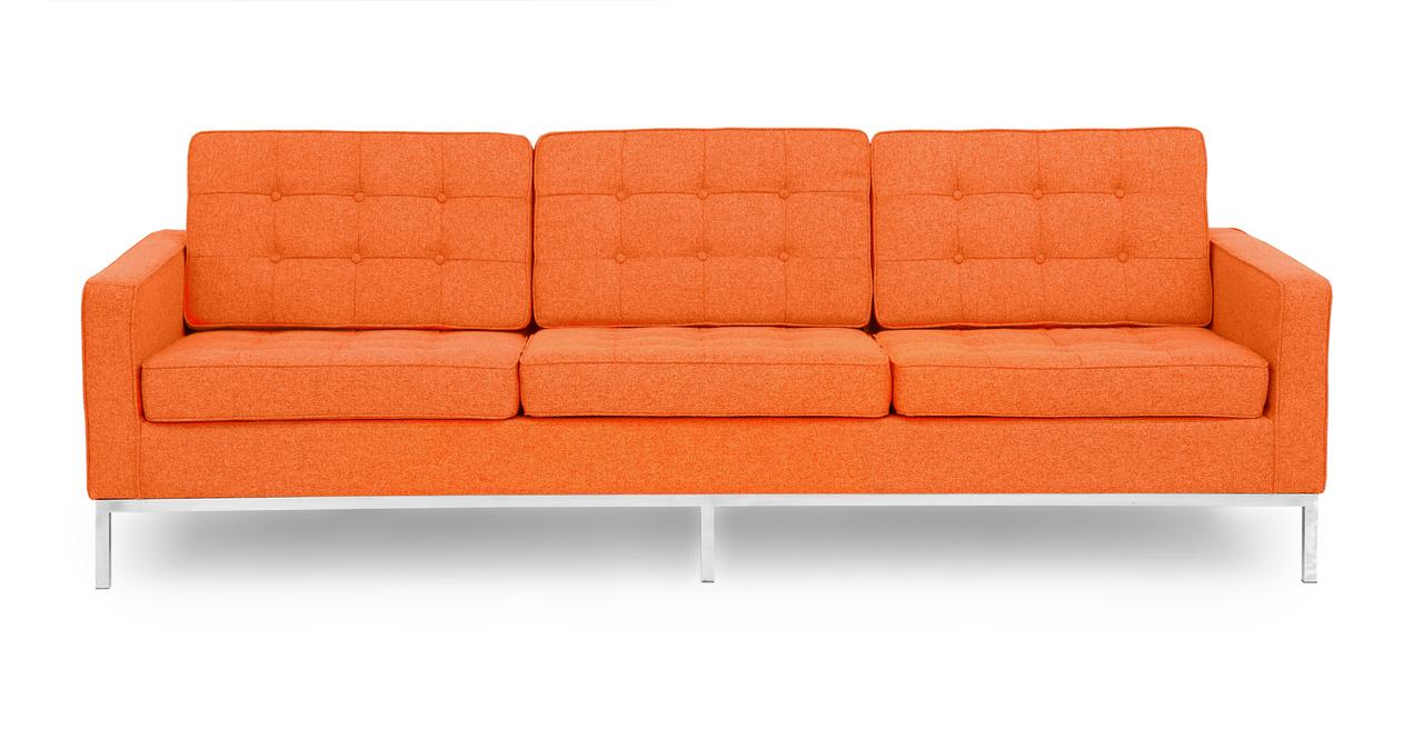 Kardiel Florence Knoll Style Sofa 3 Seat, Cinnabar Hounds...