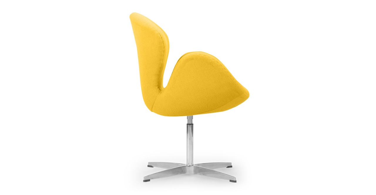 Reproducing the original form in curve and proportion is part of the quality story aside ...  sc 1 st  Kardiel & Trumpeter Chair Citron Cashmere - Kardiel