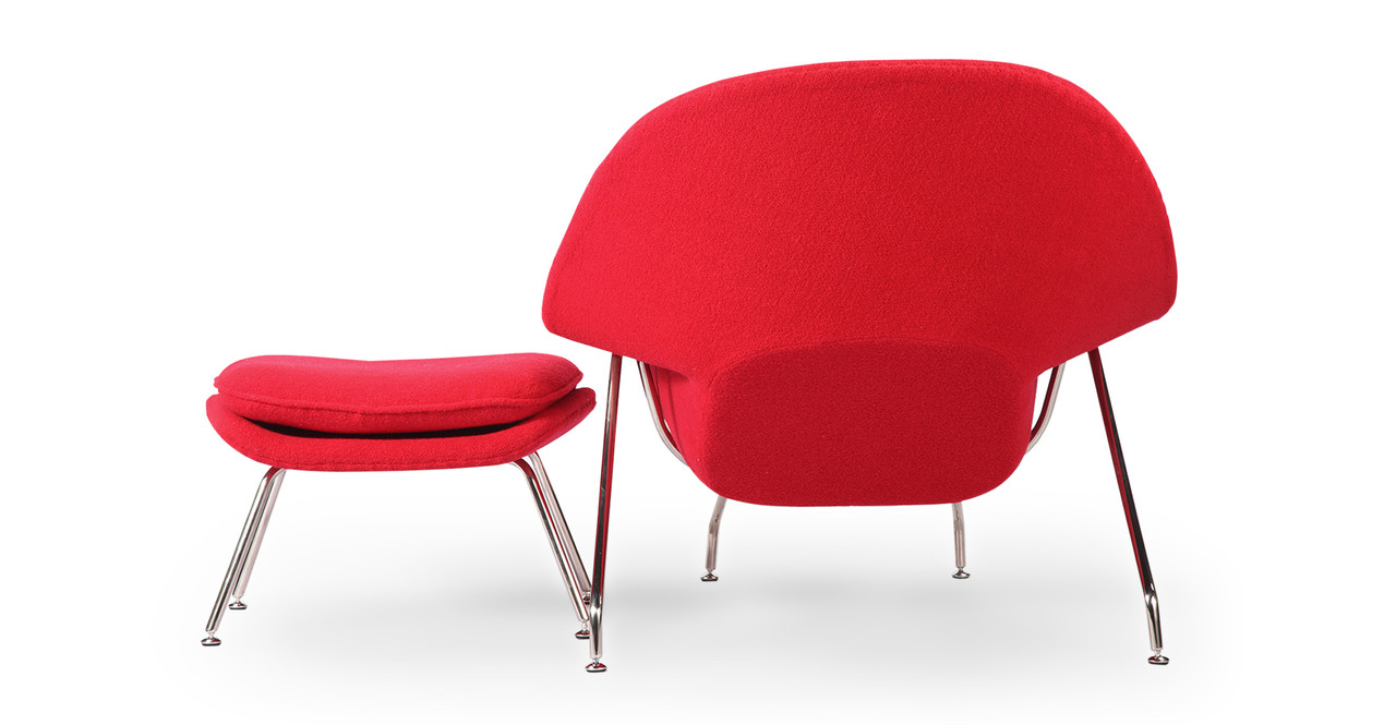 The Womb Chairu0027s Organic Form Is Representative Of The Mid Century  Scandinavian Modernism Style Of Furniture Using Synthetic Materials To  Create Inspired ...