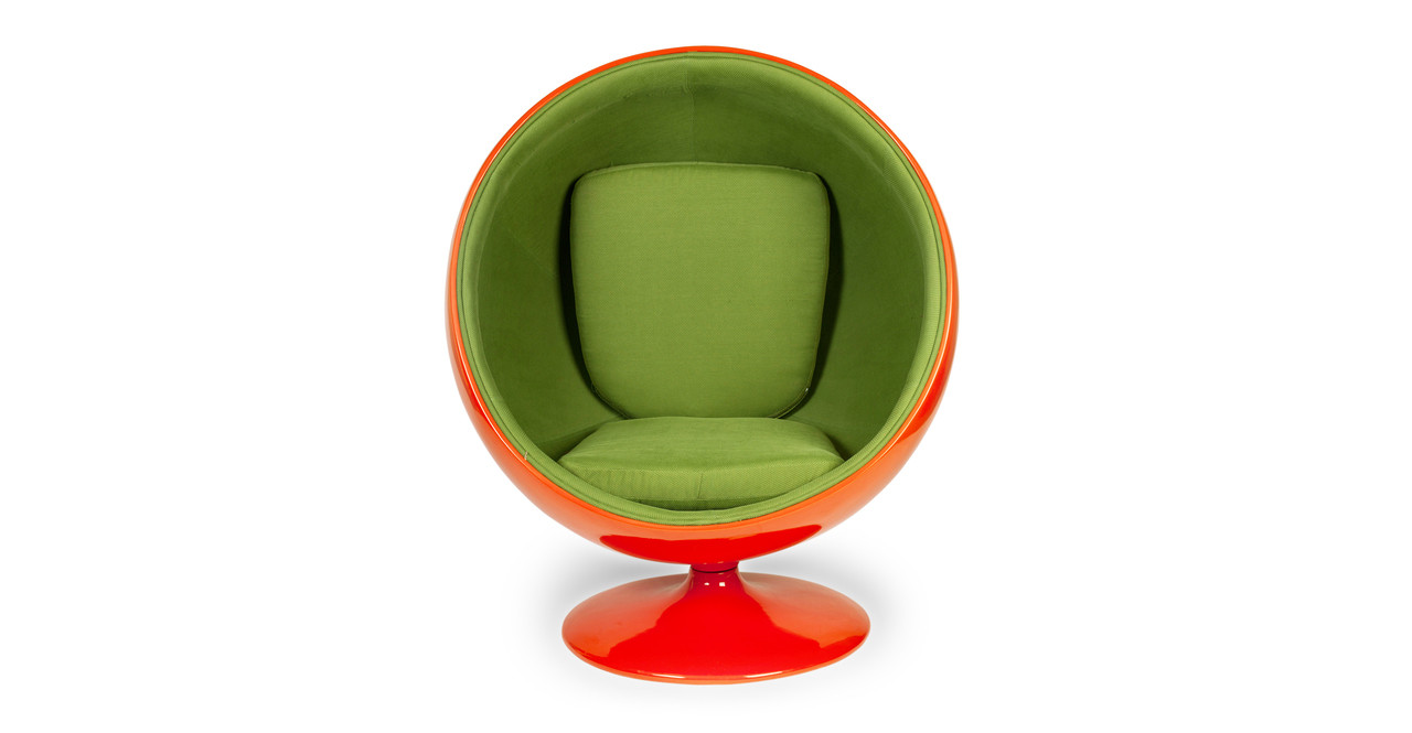 making the eero aarnio ball chair icon