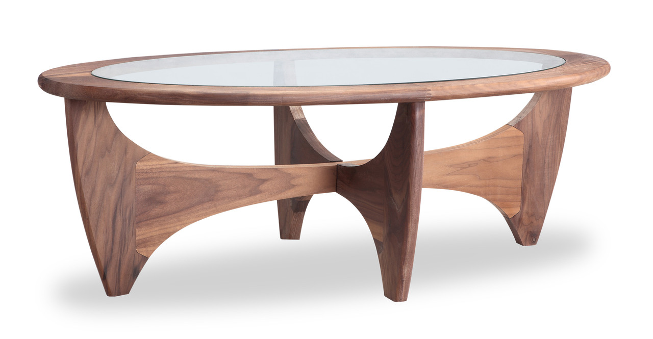 G plan walnut coffee table kardiel for How to design furniture