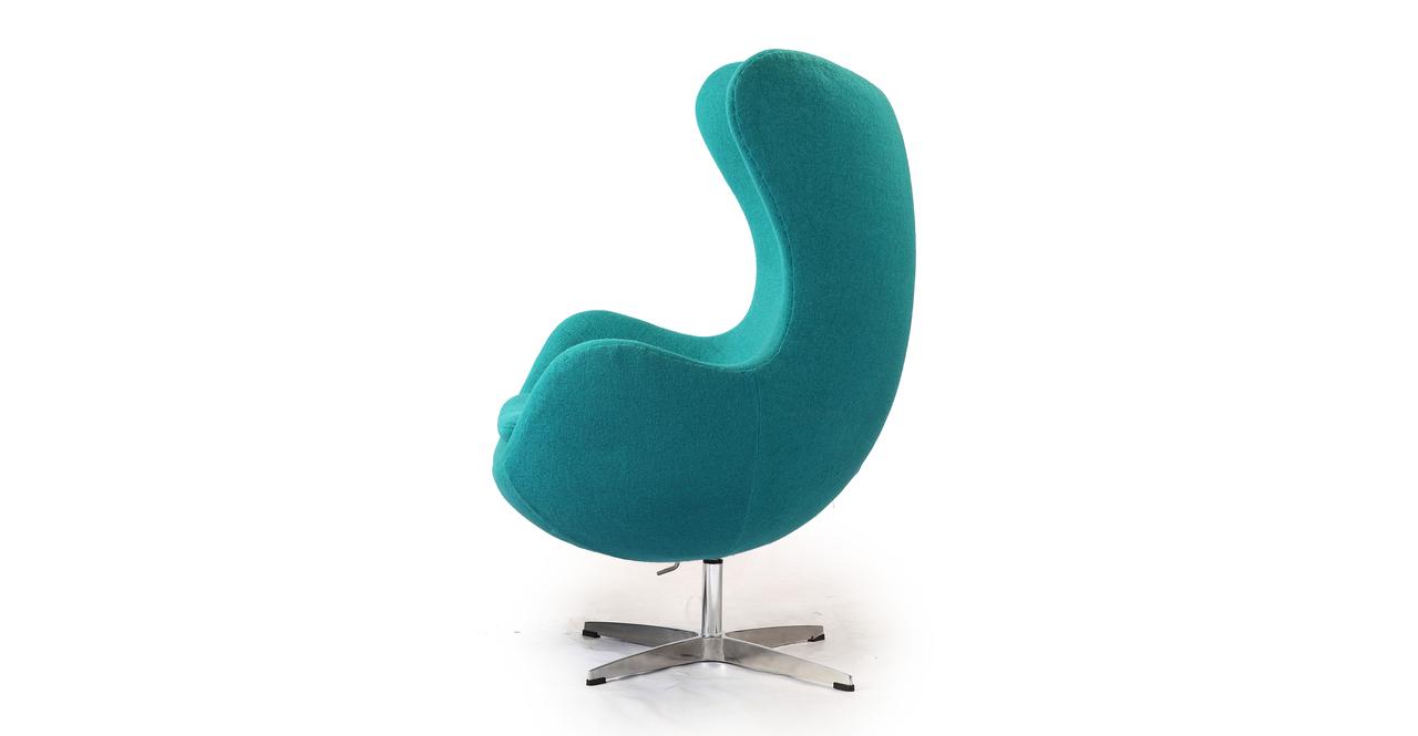 loveseatpng Amoeba Chair u0026 Ottoman Turquoise