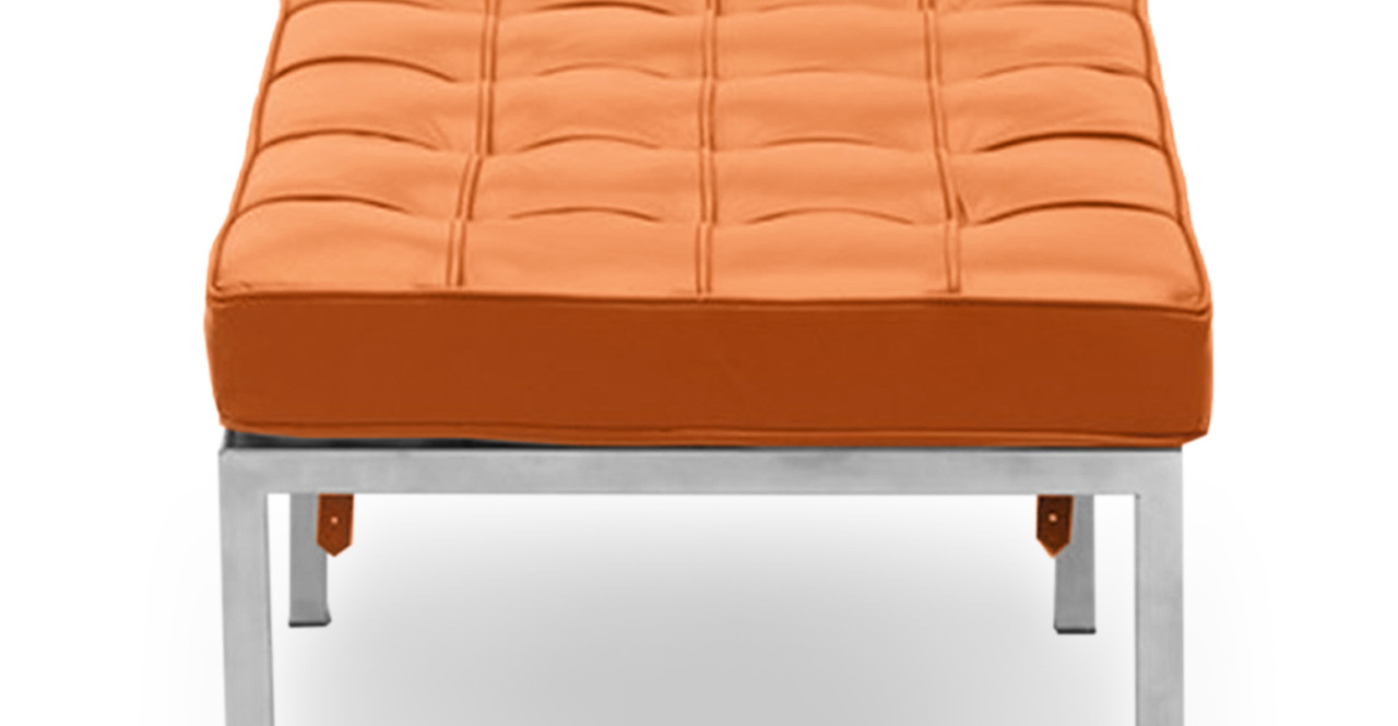 ^ Florence Bench 3 Seat, aramel Premium Leather - Kardiel