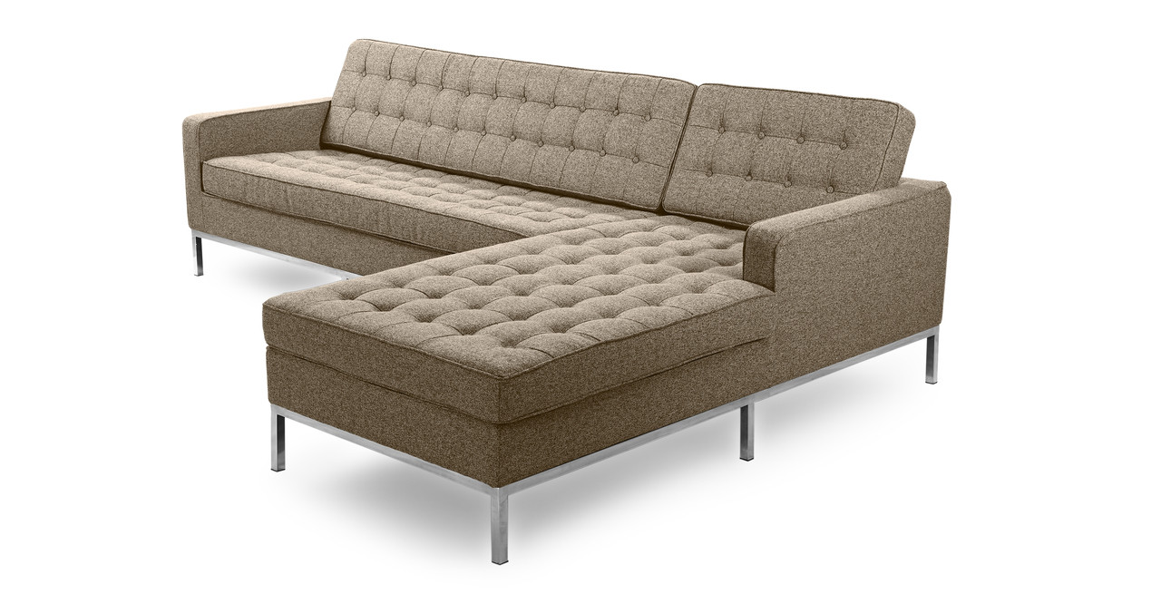 Florence Right Sectional Oatmeal