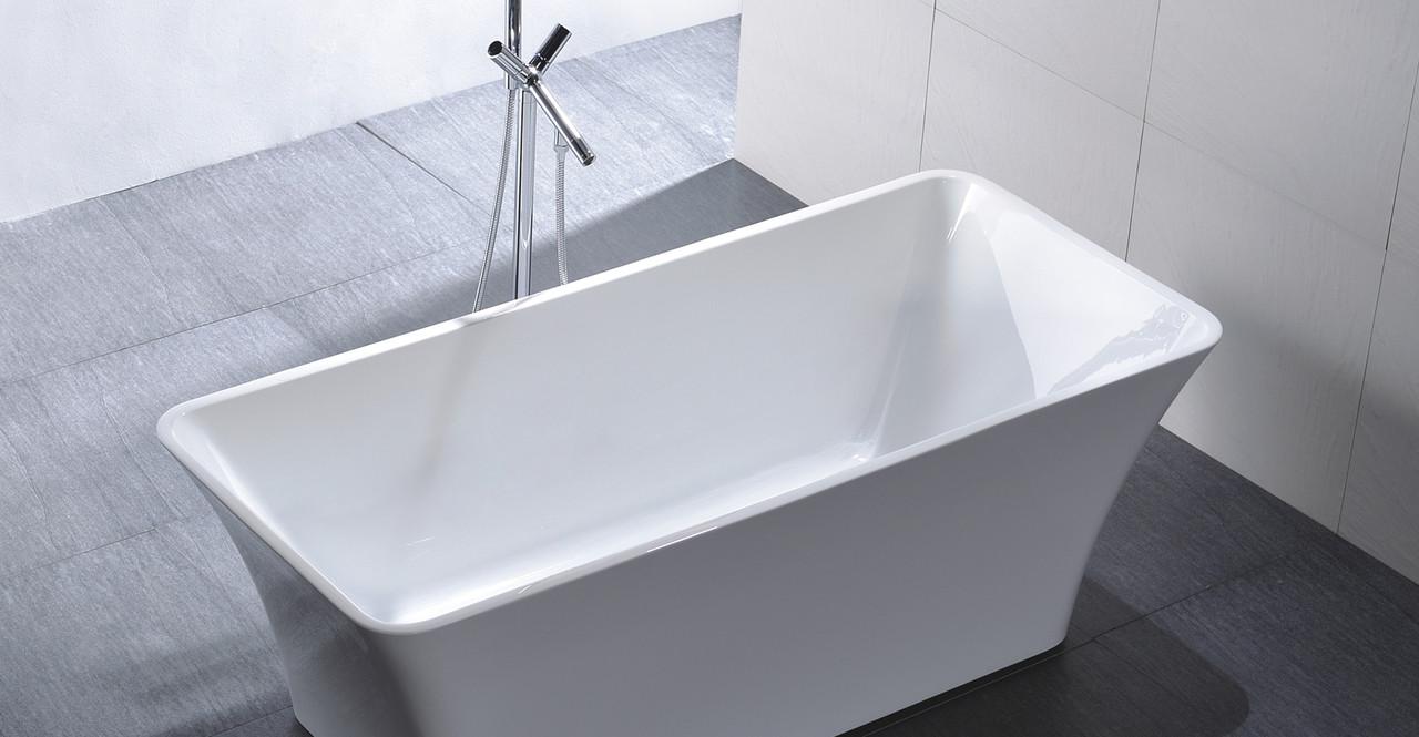 Parva bathtub 59 free faucet promo kardiel for Soaker tub definition