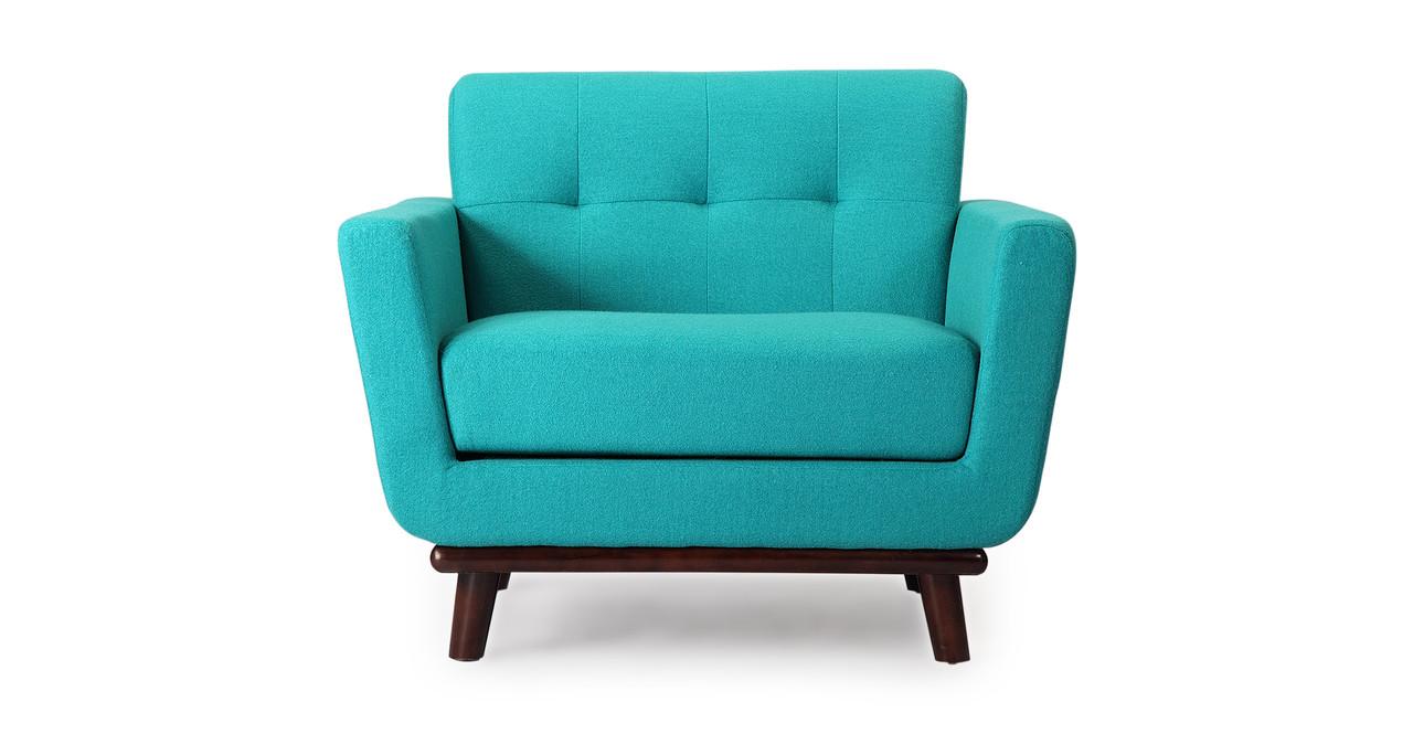 Jackie Chair, Turquoise - Kardiel